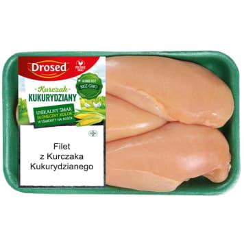 DROSED Filet z kurczaka kukurydzianego klasa A (400g - 600g) 500g