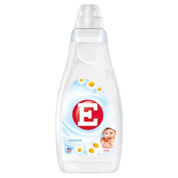 Skoncentrowany płyn do zmiękczania tkanin - E posiada skoncentrowane działanie.