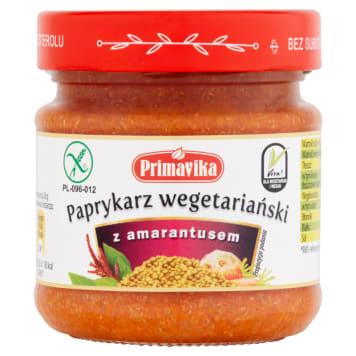 PRIMAVIKA Paprykarz wegetariański z amarantusem 160g