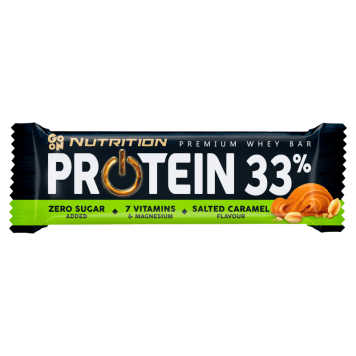SANTE GO ON! Baton proteinowy 33% słony karmel 50g