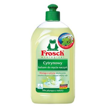 Balsam do mycia naczyń posiada miły zapach cytryny. Doskonale rozpuszcza tłuszcze.
