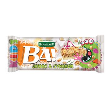 BAKALLAND BA! Baton  Kids jabłko i cynamon 25g