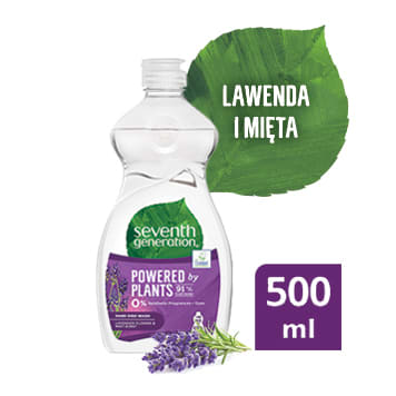 SEVENTH GENERATION Płyn do mycia naczyń Kwiat lawendy i Mięta 500 ml