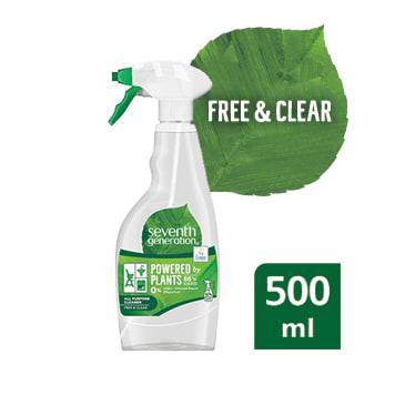 SEVENTH GENERATION Spray do czyszczenia uniwersalny Free & Clear 500ml