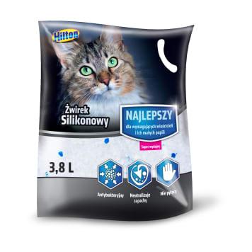 HILTON Żwirek silikonowy dla kota 3,8 l 1szt