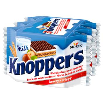 Wafelek mleczno orzechowy - Knoppers