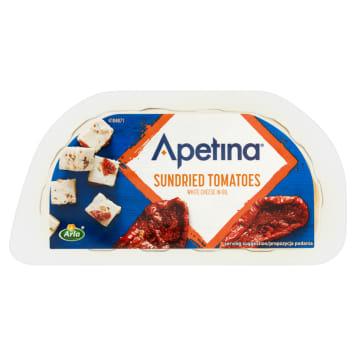 Ser feta w kostkach suszone pomidory ARLA 100g. Idealny dodatek do dań kuchni śródziemnomorskiej.