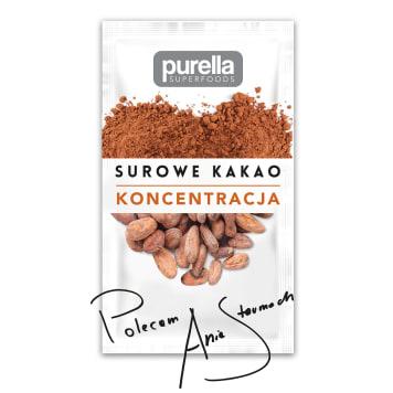 PURELLA SUPERFOODS Surowe kakao sproszkowane BIO 40g