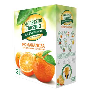 Sok pomarańczowy - Słoneczna Tłocznia