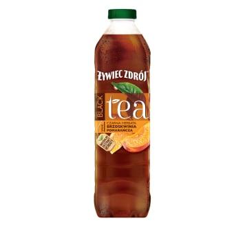 ŻYWIEC ZDRÓJ BLACK Tea Napój herbaciany Brzoskwinia Pomarańcza 1.5l