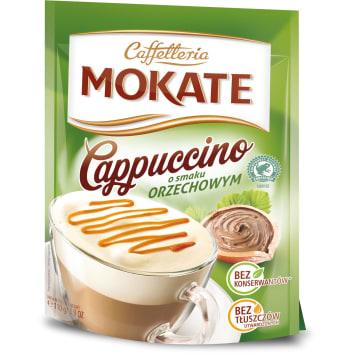 Cappuccino orzechowe - Mokate. Smaczna kawa z kremową pianką.