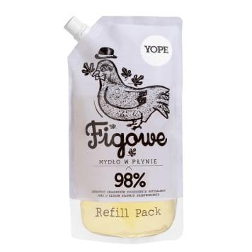 YOPE Mydło w płynie Figowe - uzupełnienie 500ml