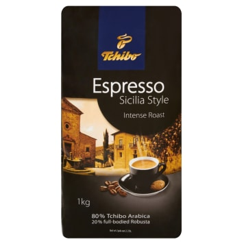 TCHIBO Espresso Sicilia Style Kawa palona ziarnista 1kg