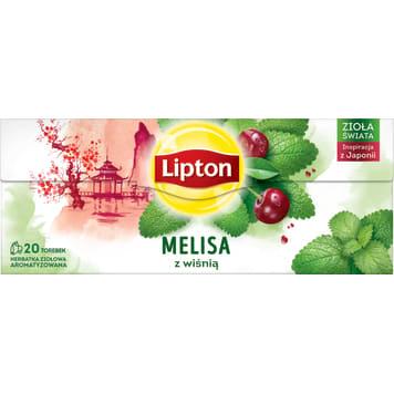 LIPTON Herbata ziołowa Wiśnia 20 torebek 26g