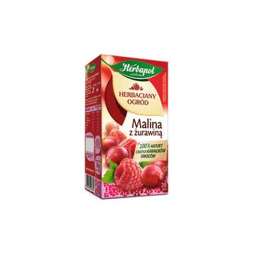 Herbata o smaku maliny i żurawiny - Herbapol Herbaciany Ogród
