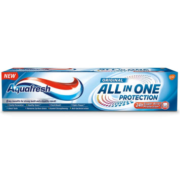 AQUAFRESH All in One Protect Pasta do zębów 1 szt