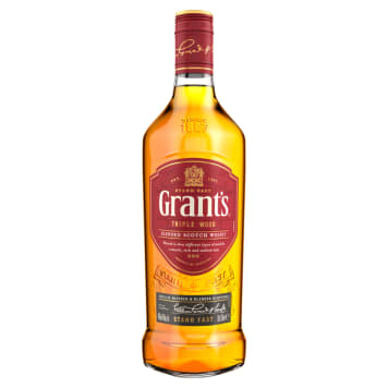 Klasyczna szkocka Whiskey - Grants Blend. Od 1899 roku jest produkowana według niezmiennej receptury