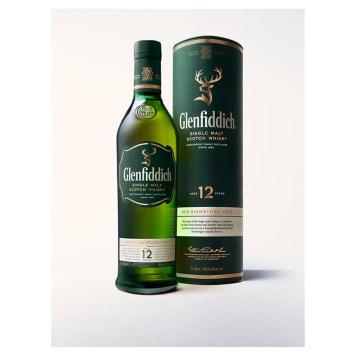 GLENFIDDICH 12 y.o. Single Malt Szkocka whisky w tubie 700ml