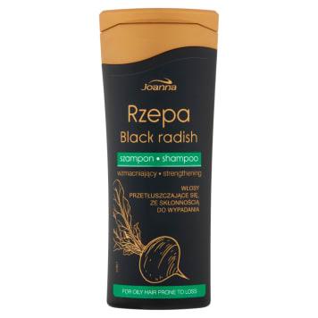 Szampon wzmacniający do włosów - Joanna. Łagodnie myjący szampon do włosów przetłuszczających się.