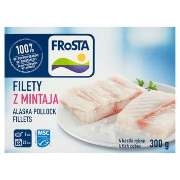 Filety z mintaja mrożone - Frosta. To smaczny obiad dla całej rodziny.