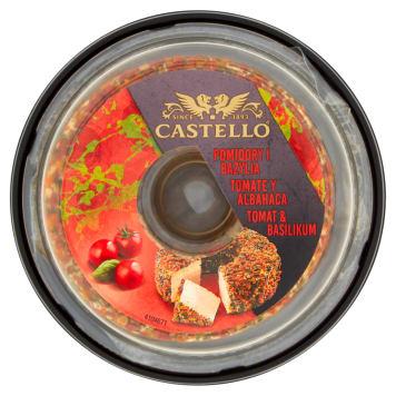 ARLA Castello Serek kremowy dekorowany Pomidory i Bazylia 125g