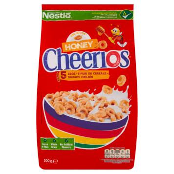 Nestlé - Płatki Cheerios Miodowe. Energia i siła na cały dzień.