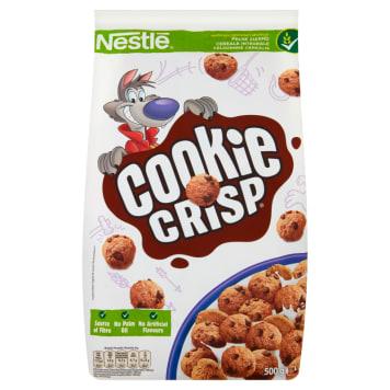 Nestlé - Płatki Cookie Crisp. Niebanalny pomysł na śniadanie.