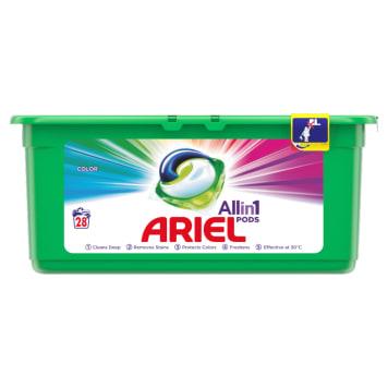 Kapsułki do prania - Ariel Color&Style to ekonomiczne rozwiązanie, które chroni włókna ubrań.