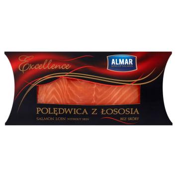Polędwica wędzona na zimno z łososia - Almar Excellence. Wykwintny i zdrowy przysmak.