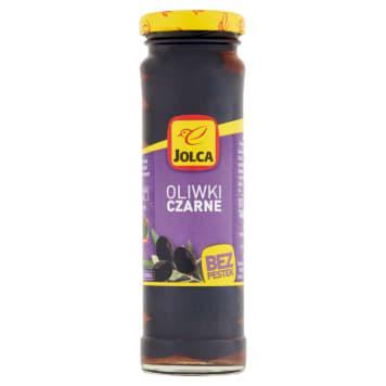 Czarne oliwki bez pestek – Jolca to pyszne, hiszpańskie oliwki gotowe do użycia.