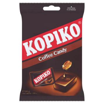 Cukierki kawowe - Kopiko to pobudzająca słodycz z dodatkiem kofeiny.