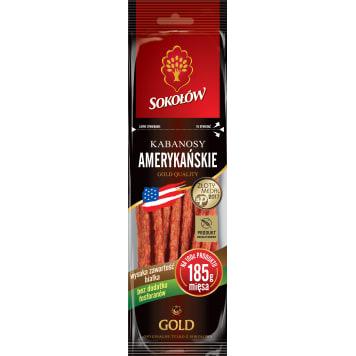 SOKOŁÓW Gold Kabanosy amerykańskie 100g
