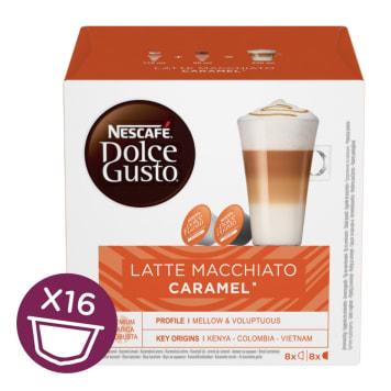NESCAFÉ Dolce Gusto Latte Macchiato Caramel Kawa w kapsułkach 16 szt. 168g