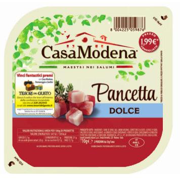 CASA MODENA Boczek Pancetta dolce w kostkach 110g