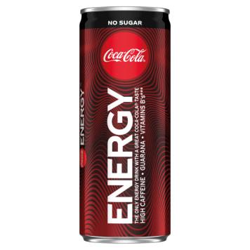 COCA-COLA Energy Napój gazowany energetyzujący bez cukru 250ml