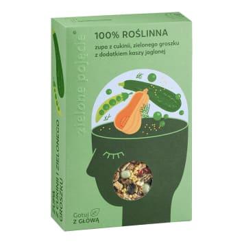 ZIELONE POJĘCIE Zupa z cukinii i zielonego groszku 100g