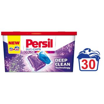 PERSIL Duo-Caps Color Lavender Kapsułki do prania 28 szt chronią kolory tkanin podczas prania.