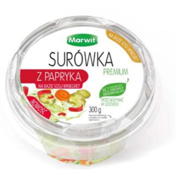 MARWIT Surówka premium z papryka na bazie sosu winegret 300g
