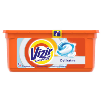Kapsułki do prania-Vizir Sensitive.