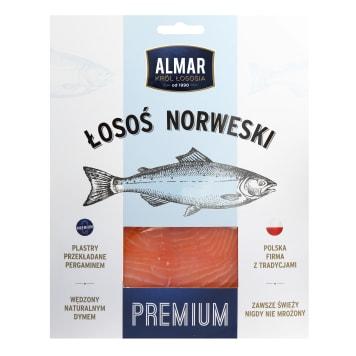 ALMAR Premium łosoś wędzony plastry 100g