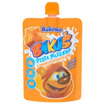 BAKOMA BAKUŚ Deser mleczny o smaku karmelowym 80g
