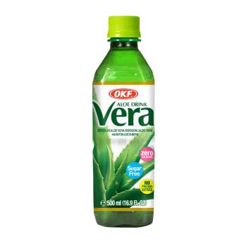 OKF Aloe Drink Vera Napój aloesowy z cząstkami aloesu bez cukru 500ml