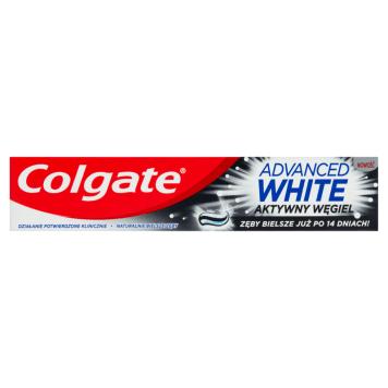 COLGATE Advanced White Pasta do zębów z aktywnym węglem 1l