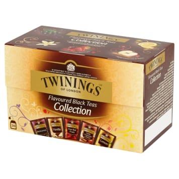 TWININGS Kolekcja 5 herbat czarnych aromatyzowanych 20 torebek 40g