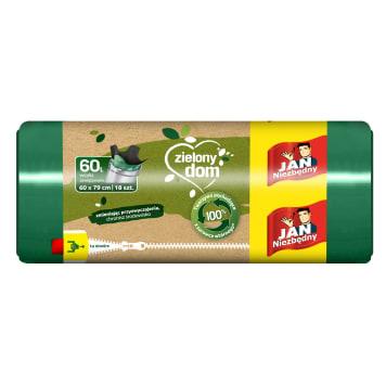 JAN NIEZBĘDNY Worki LD Ekologiczne zawiązywane 60l 18szt 1szt