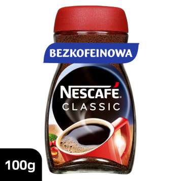 Kawa rozpuszczalna bez kofeiny - Nescafe