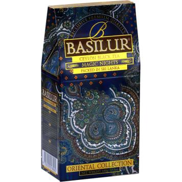 BASILUR Oriental Collection Magic Nights Herbata czarna liściasta aromatyzowana 100g