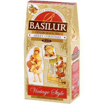 BASILUR Merry Christmas Herbata czarna liścista aromatyzowana 85g