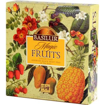 BASILUR Magic Fruits Zestaw herbat czarnych aromatyzowanych 40 torebek 1szt
