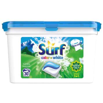SURF Duokap Kapsułki do prania 2 w 1 górska świeżość (30 prań) 723g